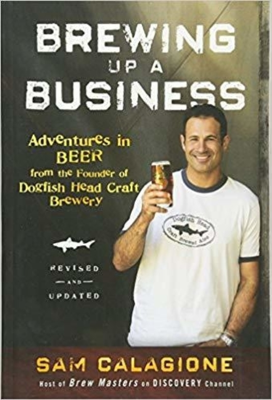 Brewing up a business Sam Calagione