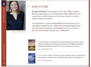 Editor Profile