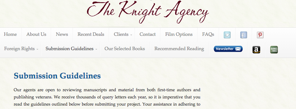 How to write a darn good query letter ny book editors knight agency spiritdancerdesigns Image collections