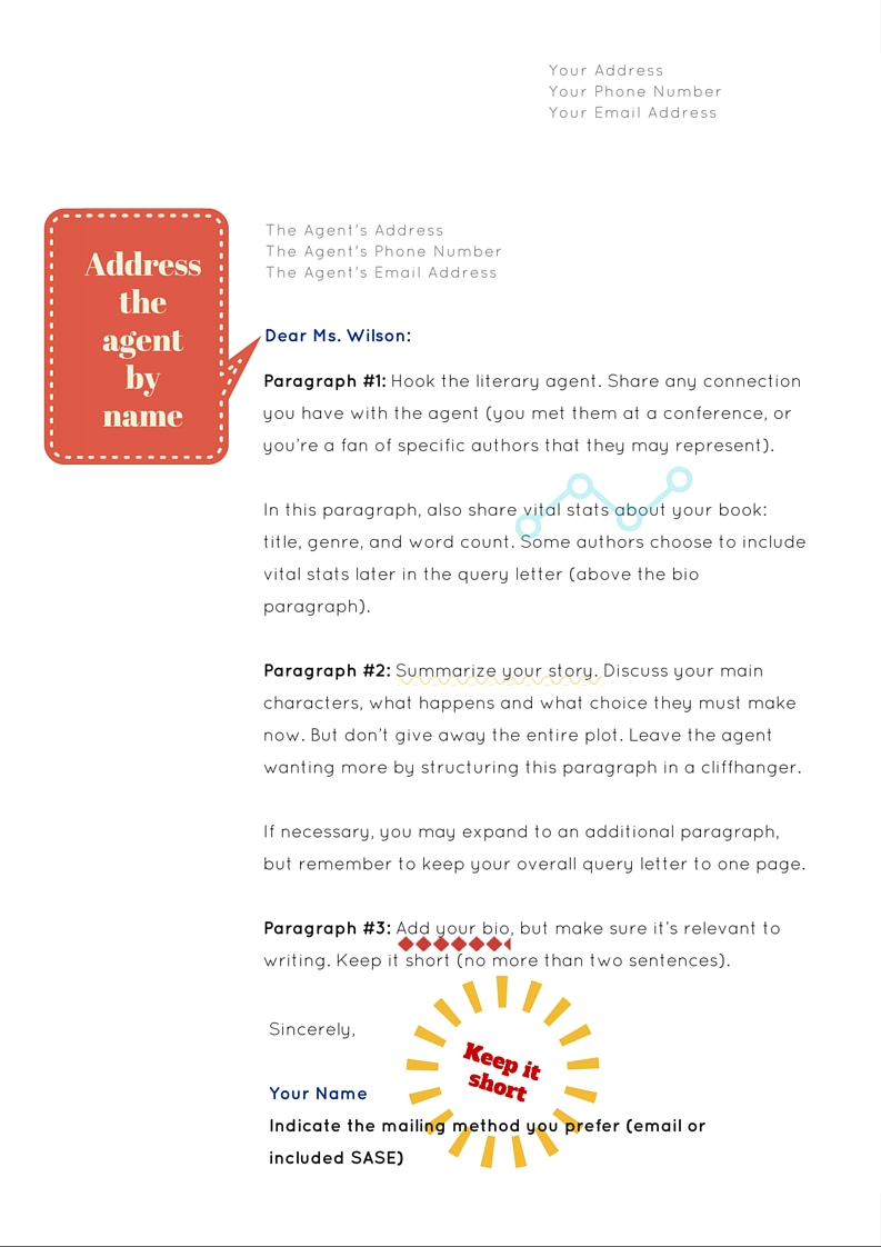 query letter template NY Book Editors – Query Letter Template