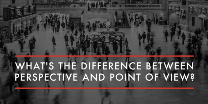 Difference Between Perspective and Point of View
