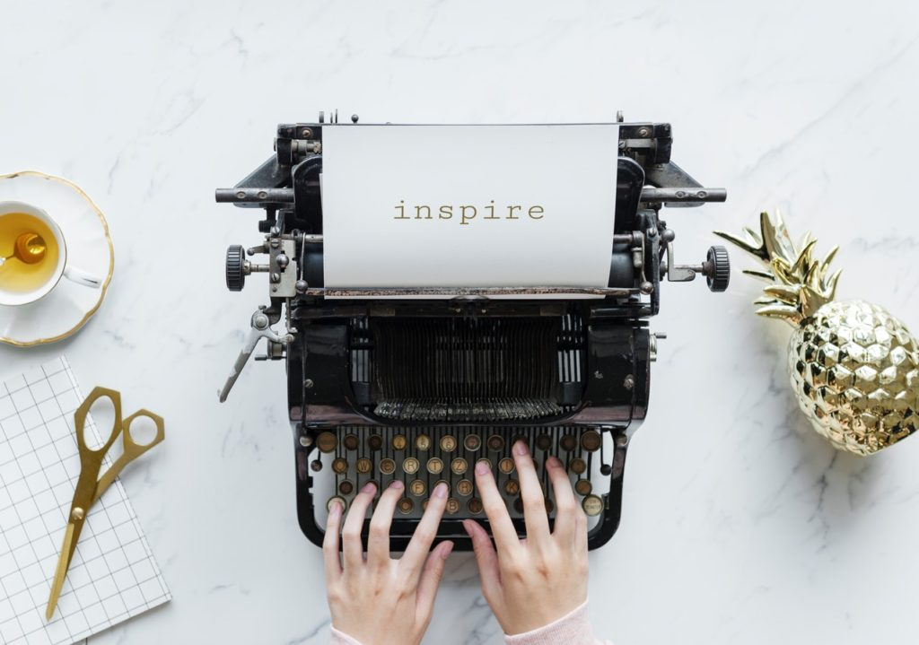 Inspiration to write