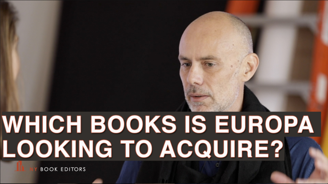 Michael Which books is europa looking to acquire